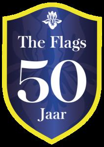 Flags 50 Jaar feest verzet